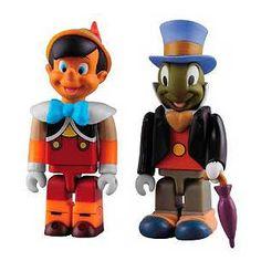 Disney Pinocchio and Jiminy Cricket Kubrick