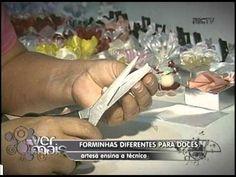 ▶ APRENDA A FAZER FORMINHA PARA DOCES VER MAIS 07 06 12 - YouTube
