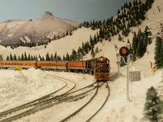 model train layouts | ... Front Range & Western Layout | Dougs Custom Model Railroad Service