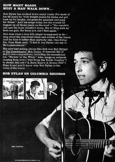 Bob Dylan on Columbia Records