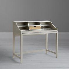 Buy John Lewis Loft Desk, Grey Online at johnlewis.com