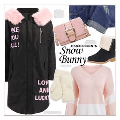 """snow bunny"" by mycherryblossom ❤ liked on Polyvore featuring Kate Spade, contestentry and polyPresents"