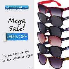 ec2cc106a8 Gkb Optical · sunglasses ·  Megasale is still on! Get upto 80%  discount on  fashionable  sunglasses