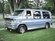 custom conversion van | Photo of a 1989 Chevrolet G20 Riverside Conversion Van (The Bus)