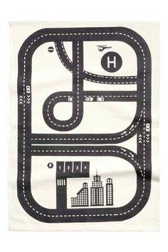 プリントデザインコットンラグ | H&M