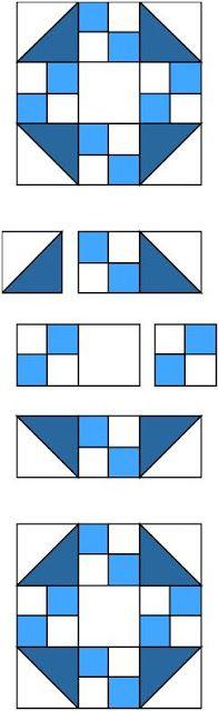 True Blue Block // The Quilt Ladies Book Collection: Quilt Ladies 52 Weeks - Week 50