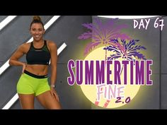 30 Minute Tabata Turn Up Workout   Summertime Fine 2.0 - Day 67 - YouTube Tabata, At Home Workouts, Cardio At Home, Summertime, Workout Videos, Youtube, Fitness Tips, Health Fitness, Day