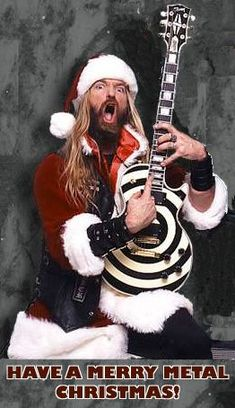 See Zakk Wylde pictures, photo shoots, and listen online to the latest music. Heavy Metal Christmas, Viking Christmas, Merry Christmas, Christmas Time, Rock N Roll, Pride And Glory, Black Label Society, Zakk Wylde, Music Pics