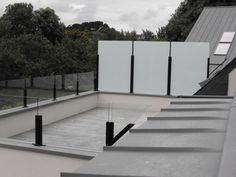 N 12 brise vue structure inox inspiration futurhome for Brise vue verre depoli