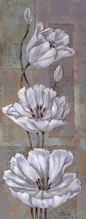 Florentine Tulips - mini by Paul Brent art print Brylane Home