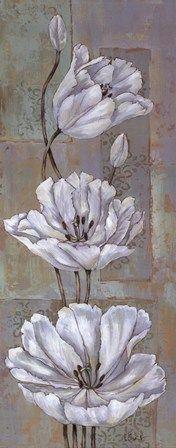 Florentine Tulips - mini by Paul Brent art print Brylane Home