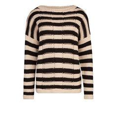 Gebreide trui met streep | | Sissy-Boy Online store