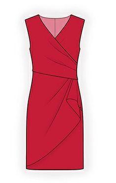 4294 Personalized Dress Pattern PDF sewing pattern by TipTopFit Dress Sewing Patterns, Clothing Patterns, Sewing Clothes, Diy Clothes, Ladies Clothes, Modelos Fashion, Diy Kleidung, Mode Inspiration, Dressmaking