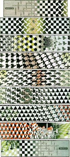 Metamorphosis III is a woodcut print by the Dutch artist M. C. Escher created between 1967 and 1968.