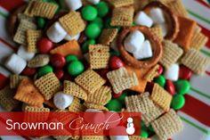 snowman crunch