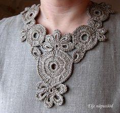 ao with <3 / crochet collar