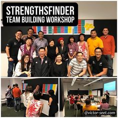 #StrengthsFinder (#CliftonStrengths) #Singapore #TeamBuilding #Workshop #Program for SeraphCorp. This workshop was done for a group of seasoned and established trainers and we had a full day session covering KNOWstrengths and APPLYstrengths module. There were lots of engagement and tough questions were asked. Felt like it was a session of iron sharpening iron and I really enjoyed the mental stimulation. Overall I felt it was a very positive session and Im glad I took up the challenge of…