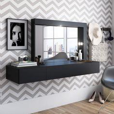 Dresser Table, Hair Salon Interior, Dressing Table Design, Teen Bedroom Designs, Cafe Interior Design, Aesthetic Room Decor, Beauty Room, Bedroom Decor, Furniture