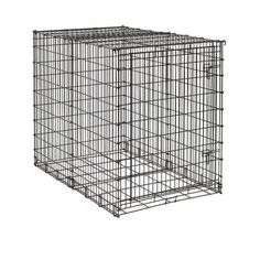 MidWest Starter Series Single-Door Drop-Pin Metal Dog Crate >>> Trust me, this is great! Click the image. : Crates, Houses and Pens for dogs Dog Cages For Sale, Dog Kennels For Sale, Pet Kennels, Big Puppies, Big Dogs, Large Dogs, Small Dogs, Big Dog Crates, Large Dog Crate