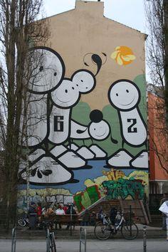 https://flic.kr/p/dPwCeN | Street Art (6) | © visitBerlin, Foto: Grothaus