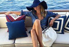 Los bolsos españoles de Elle Macpherson