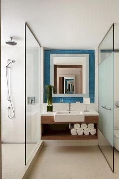 Small bathroom ideas and small bathroom designs for both city and country homes. From small bathroom designs using tile and wallpaper, to help decide on a small bathroom layout. Hotel Bathroom Design, Hotel Room Design, Small Room Design, Bathroom Layout, Bathroom Sets, Bathroom Renovations, Bathroom Colours, Shower Bathroom, Bath Design