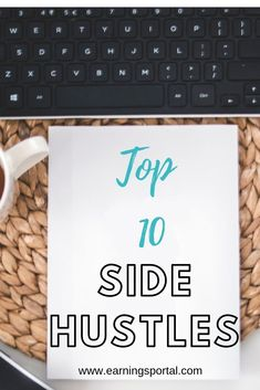 The best side hustles around, A top 10 list of the best side hustles to earn you extra cash. We could all do with a little extra and these side hustles give you the opportunity to do just that. From easy hustles to larger ones. Earn Money From Home, Earn Money Online, Way To Make Money, Budget App, Blog Planning, Work From Home Opportunities, Making Extra Cash, Financial Tips, Money Saving Tips