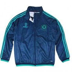 15-16 Season Chelsea FC Champion Leauge Navy Training Jacket [E650]
