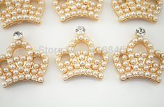 image Bead Crafts, Diy And Crafts, Floral Crown, Headband Hairstyles, Baby Accessories, Hair Bows, Brooch, Beads, Earrings