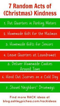 7 Random Acts of (Christmas) Kindness