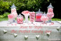 Party Planning: How to Style the Perfect Candy Bar (Lauren Conrad) Candy Bar Party, I Party, Party Time, Party Favors, Party Ideas, Holiday Parties, Holiday Fun, Sweet Bar, A Little Party