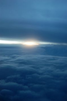Ahhhh...yeah, obviously a shot taken out of an airplane window, yet, a very nice shot. =))