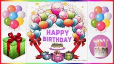 Happy Birthday Greeting Cards, Wishes, Messages and Videos Happy Birthday Chocolate Cake, Happy Birthday Cake Images, Happy Birthday Wishes Cards, Birthday Chocolates, Happy Birthday Gifts, Birthday Greeting Cards, Heart Wallpaper, Eid Mubarak, Balloons