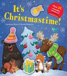 Usborne Books & More. It's Christmastime! Christmas Books, Christmas Time, Monster Hunt, Christmas Stickers, Band Aid, Farm Yard, Kids Reading, Book Nooks, Squirrel