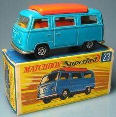 Matchbox Superfast Volkswagen Camper