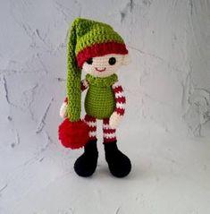 Winter Christmas, Yoshi, Diy And Crafts, Crochet Hats, Dolls, Character, Amigurumi Patterns, Xmas, Dressing Up