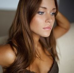 Golden brown hair color...maybe the base could be darker