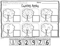 Kindergarten activities and printable for September!