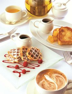 Relax in your pajamas a little longer than usual and treat yourself to comforting breakfast in your room at Conrad Tokyo.