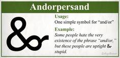 Andorpersand mark