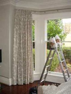 curtains for bay windows - Google Search