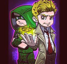 Arrow and Constantine