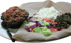 Redi-et--an Ethiopian restaurant in Myrtle Beach and it has vegan dishes as well