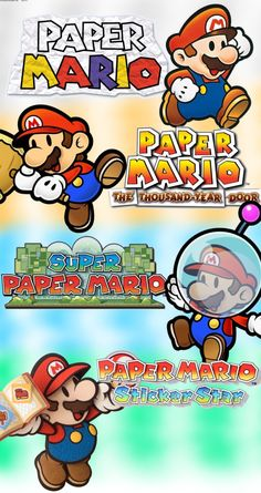 4 of the Paper Mario Adventures by FaisalAden