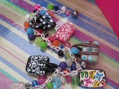 Cindy Style Charm Bracelet. $40.00, via Etsy.