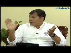 Entrevista al Presidente Rafael Correa en Tulcán, 9 Mayo 2014