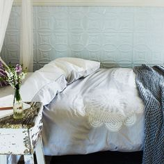 Shannon Fricke bed linen - Spun Lace Quilt Cover