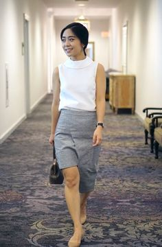 Outfit x Aris perfect for business casual dress codes | Who Wore What | http://skirttheceiling.com