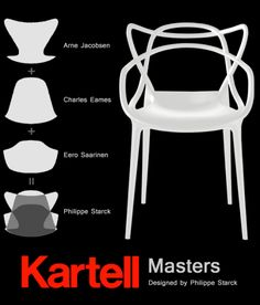 La chaise Masters de Philippe Starck et Eugeni Quitllet
