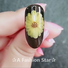 Nail Art ✰A Fashion Star✰ nail Gel Nail Art Designs, Nail Art Designs Videos, Nail Design Video, Nail Art Videos, Pretty Nail Art, Beautiful Nail Art, Nail Art Hacks, Nail Art Diy, Floral Nail Art